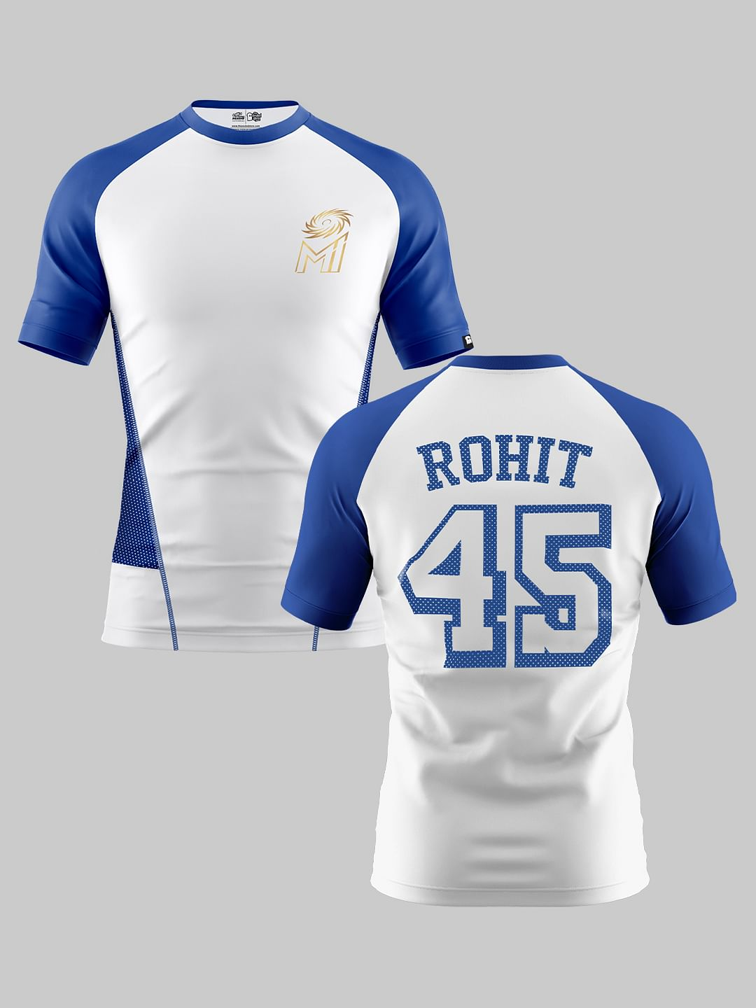 Mumbai Indians 2020 Official IPL Fan Jersey M // 38-40in ROHIT 45